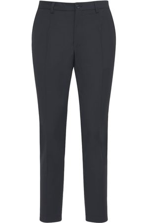 Dolce & Gabbana Stretch Wool Blend Jogging Pants