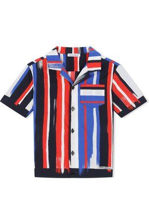 Dolce & Gabbana Painted stripe short-sleeve shirt