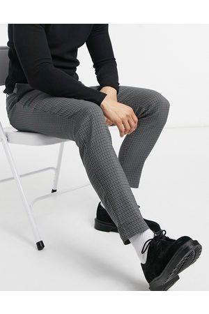 Only & Sons Bukser i grå pepitatern - Del af sæt