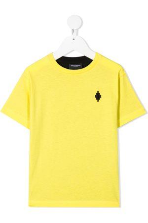 MARCELO BURLON Drenge Kortærmede - T-shirt med colourblocking