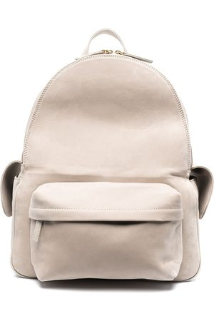 ELEVENTY Multi-pocket leather backpack