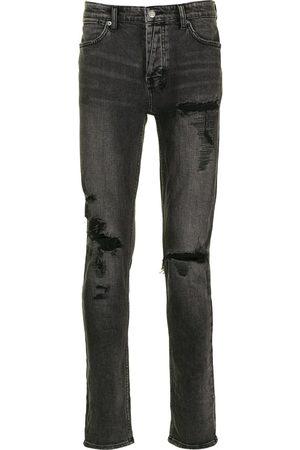 KSUBI Mænd Skinny - Skinny-jeans med slitageeffekt