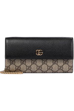 Gucci Kvinder Clutches - GG Marmont leather clutch