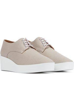 Robert Clergerie Kvinder Casual sko - Lindsi platform canvas Derby shoes