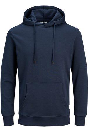Jack & Jones Mænd Sweatshirts - Ensfarvet Plus Size Hoodie Mænd