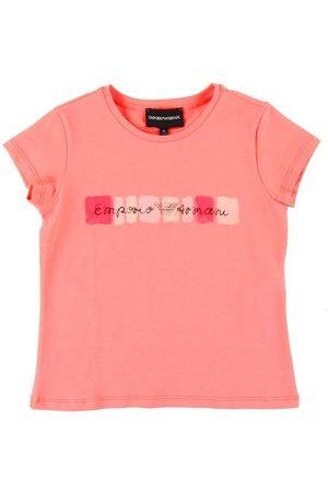 Emporio Armani Kortærmede - T-shirt - Lyserød m. Logo