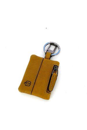 Piquadro Keychain with Connequ Black Square