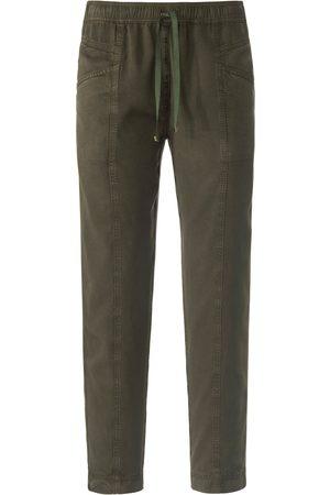 Peter Hahn Kvinder Bukser - Ankellange jog-pants pasform Cornelia Fra grøn