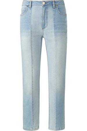 DAY.LIKE Ankellange jeans elastisk linning Fra denim