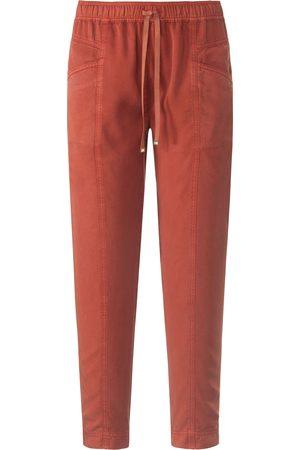 Peter Hahn Ankellange jog-pants pasform Cornelia Fra orange
