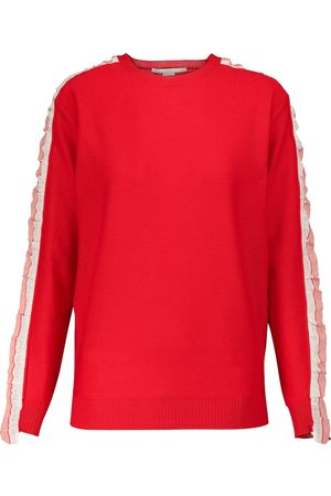 Stella McCartney Kvinder Strik - Wool and silk sweater