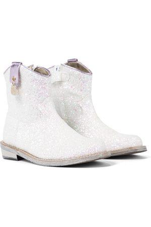 MONNALISA Kvinder Cowboystøvler - Glitter cowboy boots