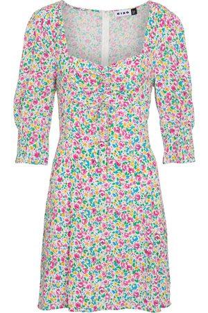 RIXO London Larissa printed crêpe dress