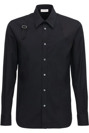 Alexander McQueen Stretch Cotton Shirt