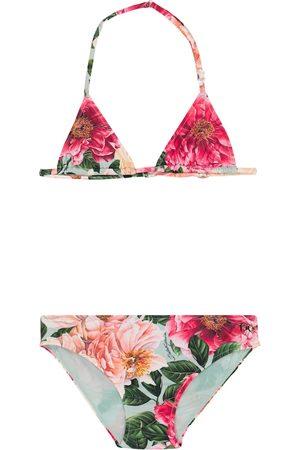 Dolce & Gabbana Floral bikini set