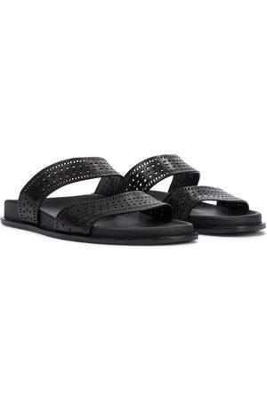 Alaïa Flat leather sandals