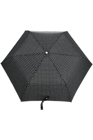 10 CORSO COMO Paraply med polkaprikket tryk