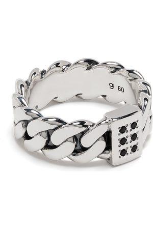 TOM WOOD Ringe - Sølvbelagt ring med kædeled-motiv