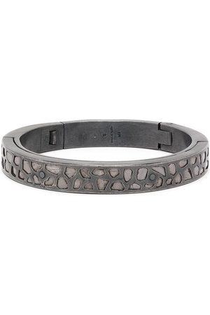 PARTS OF FOUR Sistema diamond cuff bracelet