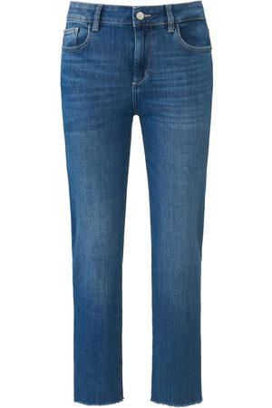 DL1961 7/8-jeans model Mara Straight Mid Rise Fra denim