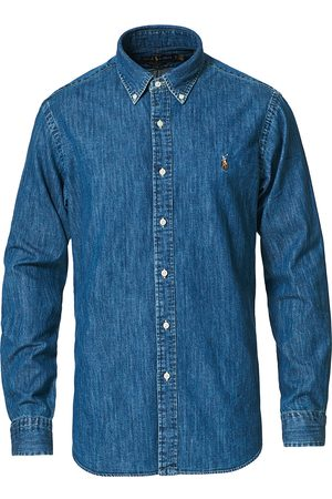 Polo Ralph Lauren Custom Fit Shirt Denim Dark Wash