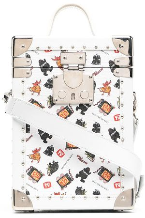 Poggy's Box Trunk crossbody bag