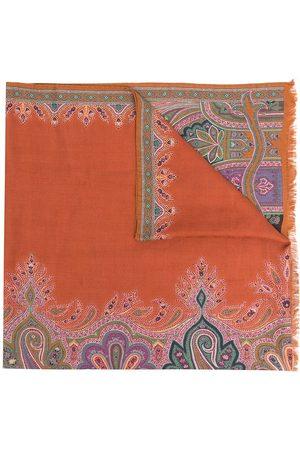 Etro Tørklæde i kashmir med paisley-tryk