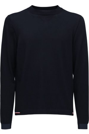 Moncler Mænd Strik - Cotton Knit Crew Sweater