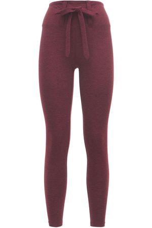 YEAR OF OURS Heather Active Jersey Tie Leggings