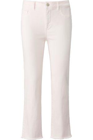 DL1961 Kvinder Straight - 7/8-jeans model Mara Straight Mid Rise Fra rosé