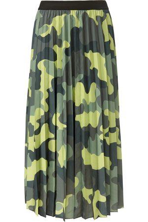 Margittes Kvinder Plisserede nederdele - Plisseret nederdel Fra grøn
