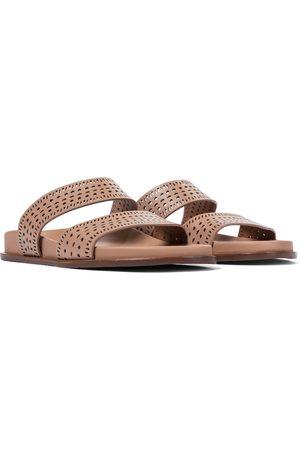 Alaïa Kvinder Sandaler - Laser-cut leather sandals