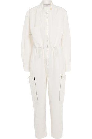 Stella McCartney Alessia cotton and linen-blend jumpsuit