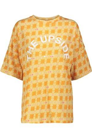 The Upside Kvinder Kortærmede - Carla cotton-blend T-shirt