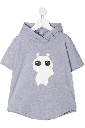 Wauw Capow by Bangbang Hi Buddy T-shirt med hætte