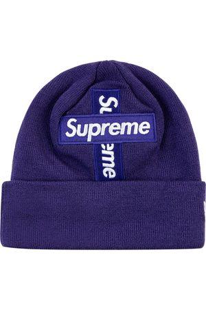 Supreme New Era Cross hue med boks-logo