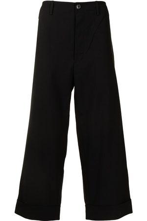 Ports V Cropped bukser med slogan-tryk