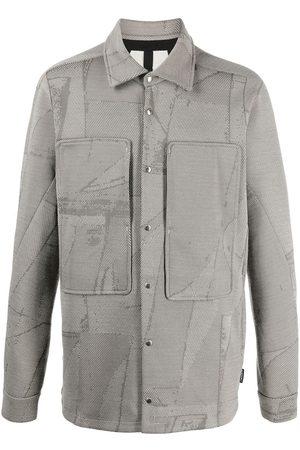 Byborre Abstract geometric print shirt