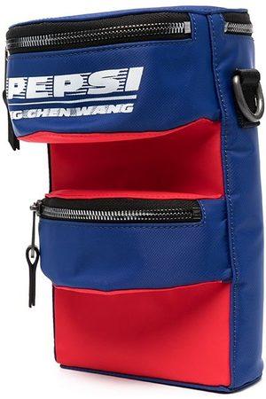 Feng Chen Wang Skuldertasker - Pepsi logo panelled shoulder bag