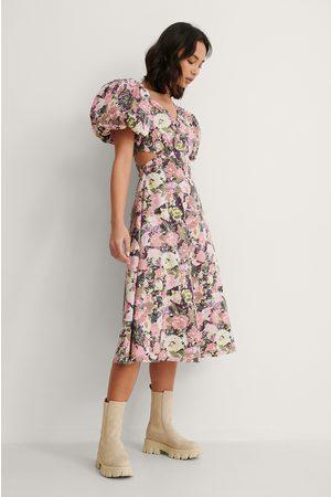 NA-KD Kvinder Asymmetriske kjoler - Asymmetrisk Midikjole