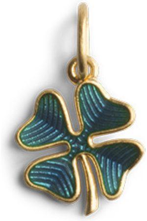 Jane Kønig Four-Leaf Clover Pendant with Enamel