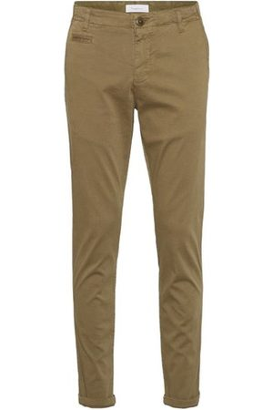 Knowledge Cotton Apparal Mænd Chinos - JOE slim chino pants