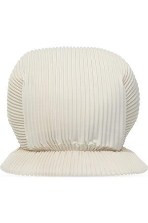 Issey Miyake Kasketter - Pleated baseball cap
