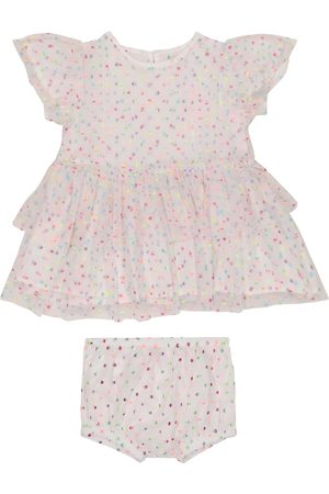 Stella McCartney Baby polka-dot tulle dress and bloomers