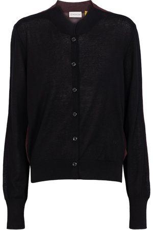 Moncler Genius 2 MONCLER 1952 cashmere and cotton-blend cardigan