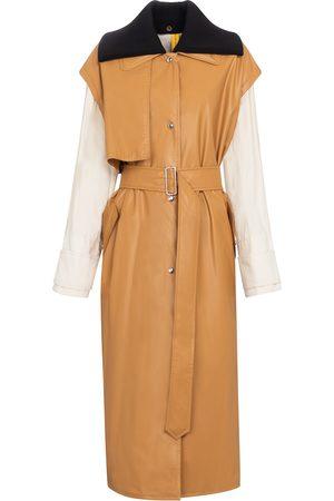 Moncler Genius Kvinder Trenchcoats - 2 MONCLER 1952 Coral trench coat