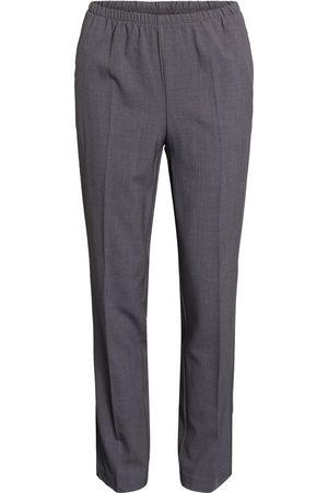 Brandtex Bukser med elastikbånd i taljen Anna - Grey Melange - 74 cm / 34