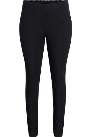 Ciso Bukser med elastisk linning, slank pasform - Black - 40