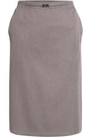Brandtex Nederdel med elastik og spænde - Earth - 36