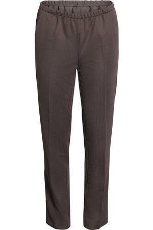 BRANDTEX Kvinder Habitbukser - Bukser med elastik og skrålomme Anna - Falcon - 74 cm / 36